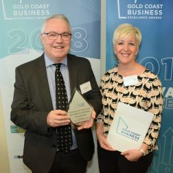 Nucrush Group wins Gold Coast Business Excellence Award