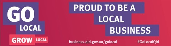 Go Local queensland logo