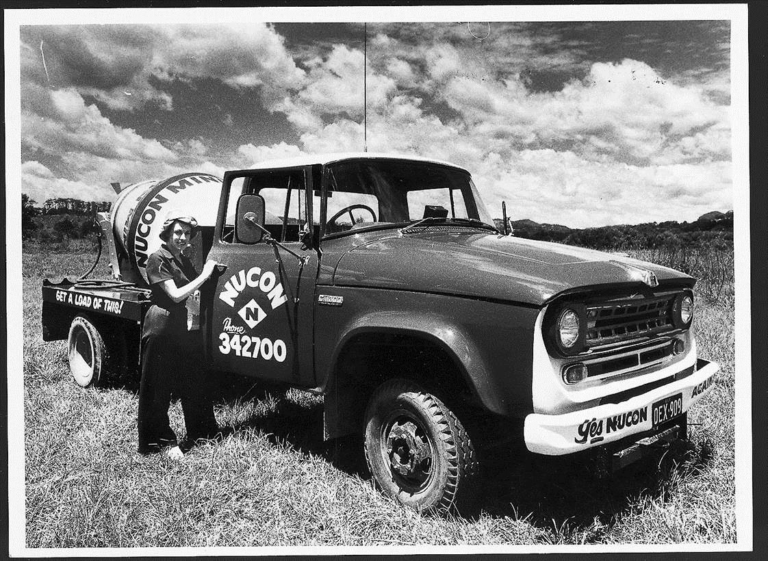 Nucon retro photo of truck