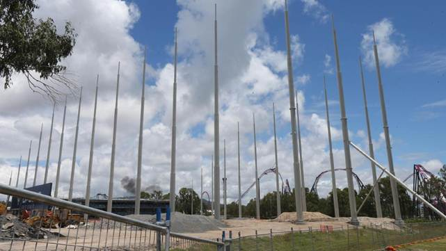 Movieworld Top Golf attraction