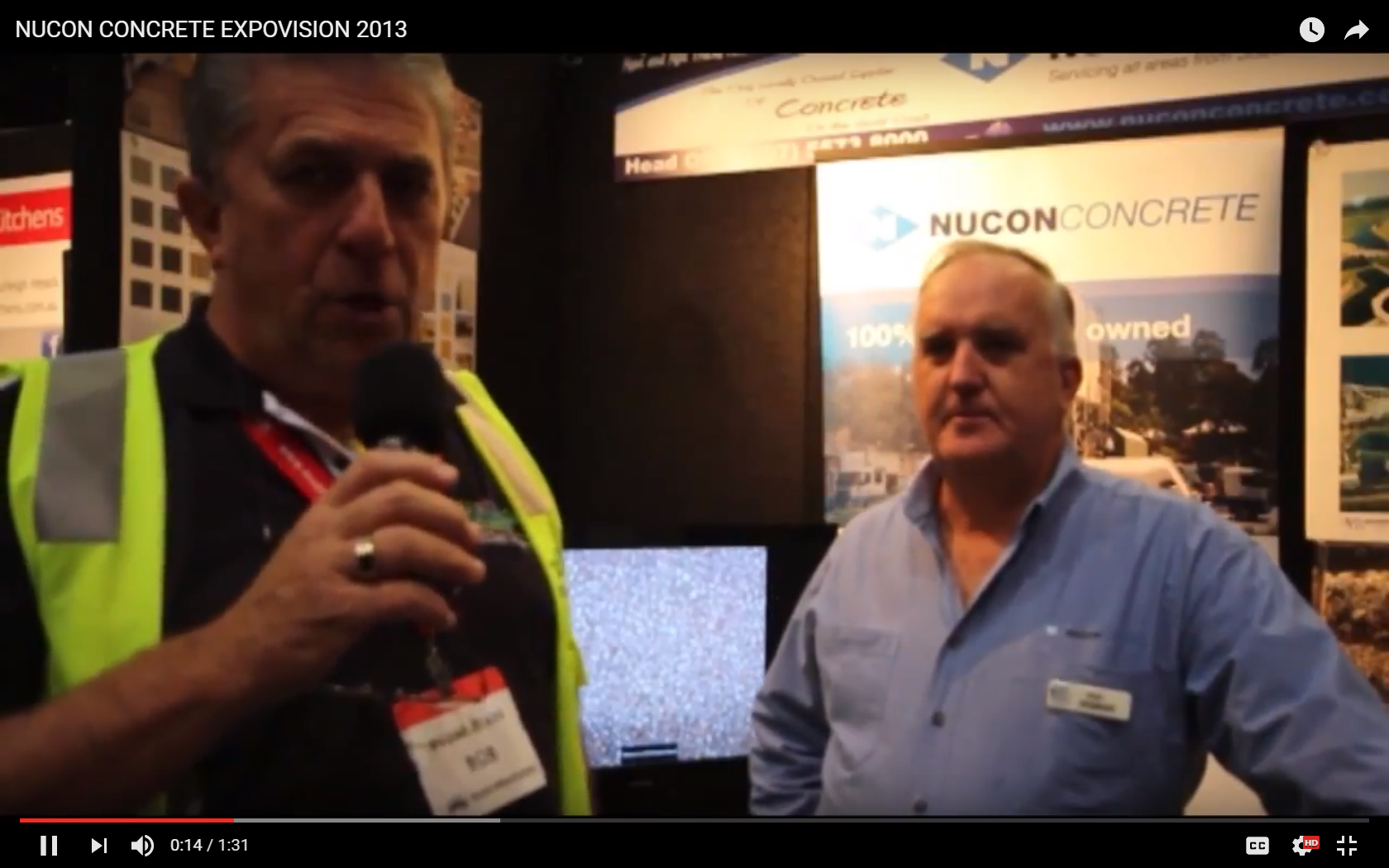 Nucon at Home Show 2013 video